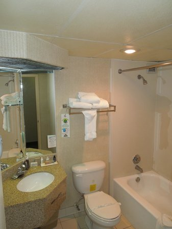 El Palacio Sports Hotel &amp; Conference Center: Bathroom room 603