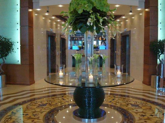 Al Murooj Rotana: Ingreso del hotel