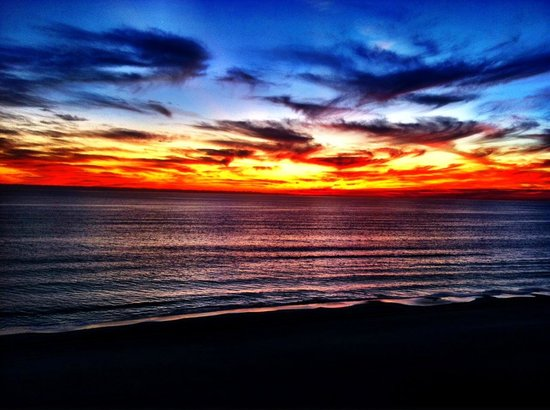 Celadon Beach Resort: Sunset on Panama City Beach