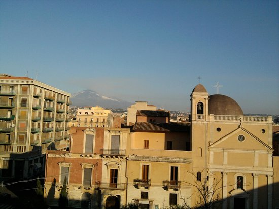 C.C.Ly Hostel: The view at Etna (from a balcony of Ccly Hostel)
