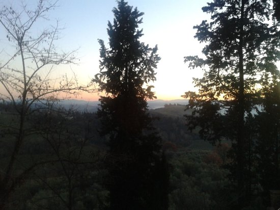 Il Paluffo - Main House B&amp;B: Tramonto