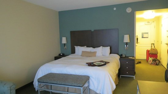 Hampton Inn &amp; Suites by Hilton Halifax - Dartmouth: Comfy king size bed