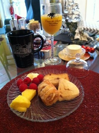 ‪‪Casa de Suenos Bed and Breakfast‬: Personal Home Made Breakfast