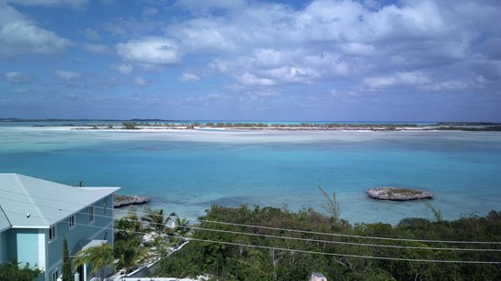 George Town, Great Exuma: View from the balcony