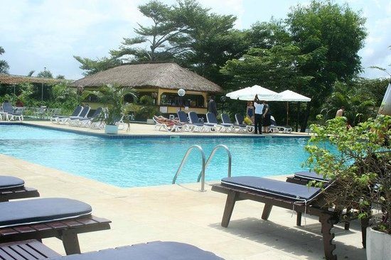 la piscine picture of beach club libreville tripadvisor