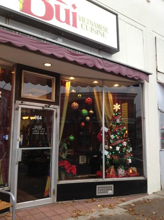 Bui Vietnamese Cuisine: Our holiday decorations