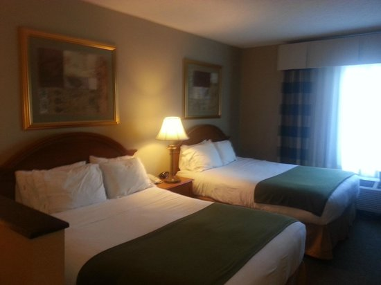 Holiday Inn Express Onalaska (La Crosse Area): Comfortable beds