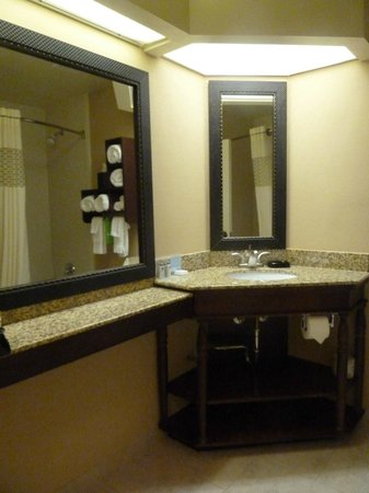 Hampton Inn Newnan: Bathroom/Vanity Area