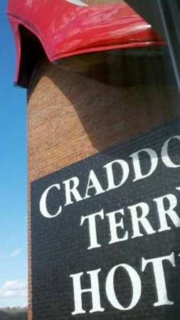Craddock Terry Hotel: The Big Red Shoe