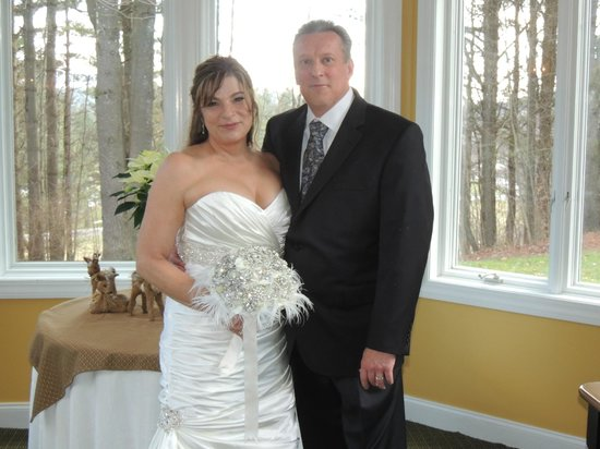 Stone Hill Inn: The new Mr. & Mrs.