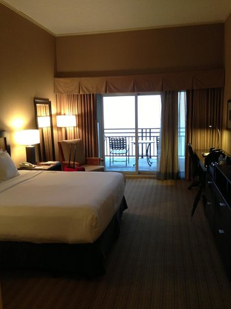 Lakeway Resort and Spa: The room, opposite view