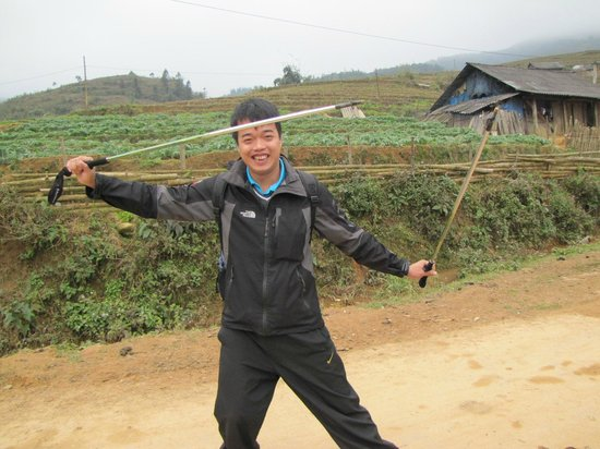 Footprint Vietnam Travel Day Tours: Our wonderful Sa Pa guide, Nam