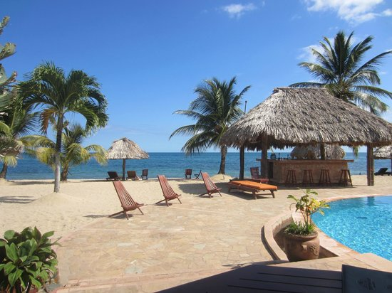 Belizean Dreams: View from the dining area