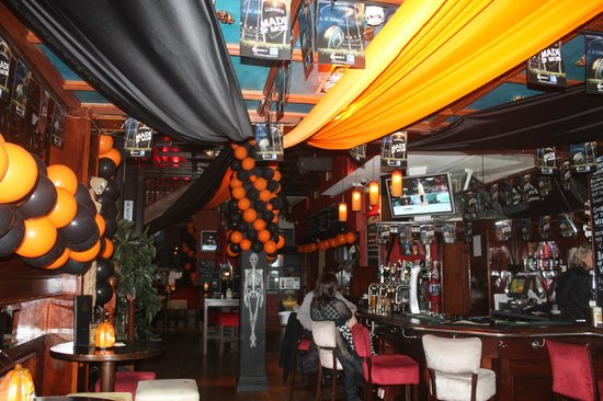Halloween decoration picture of trinity bar venue