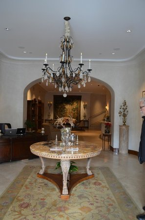 Hotel Les Mars, Relais &amp; Chateaux: Lobby area