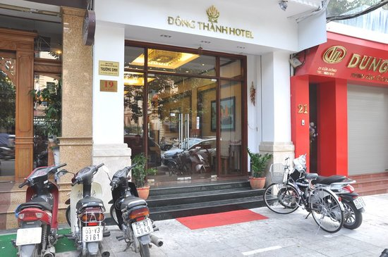 Entrance of Dong Thanh Hotel