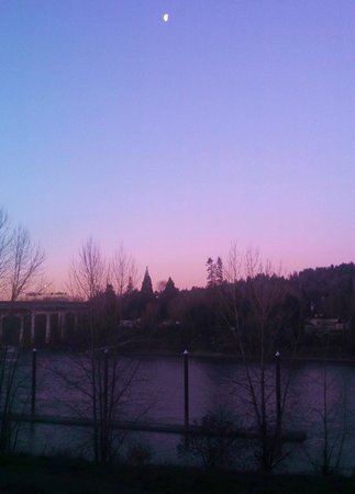 Oregon City, OR: Sunrise Jan 3, 2013 from Room 312