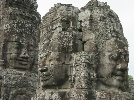 Siddharta Boutique Hotel: Bayon temple is mystical, different from all other Khmer temples