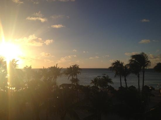 Marriott Aruba Resort & Stellaris Casino: view from the room