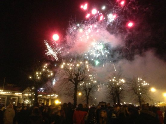 BEST WESTERN Moffat House Hotel: New year fireworks!