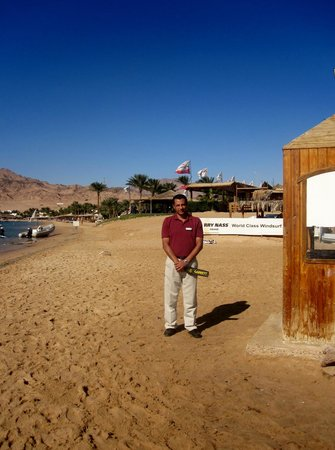 Hilton Dahab: SAID FROM PROFESSIONAL SECURITY-TEAM TO PROTECT THE AERIA AT THE BEACH
