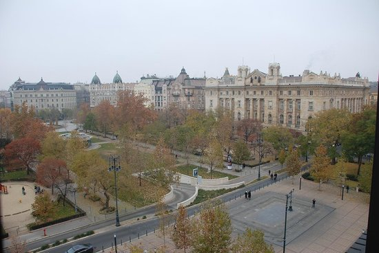 IBEROSTAR Grand Hotel Budapest: The view from the room
