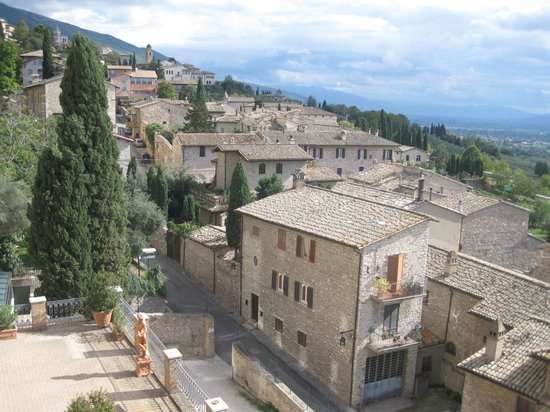 Hotel Giotto Assisi: View from the hotel
