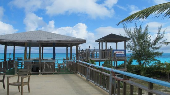 George Town, Great Exuma: View from the Restaurant