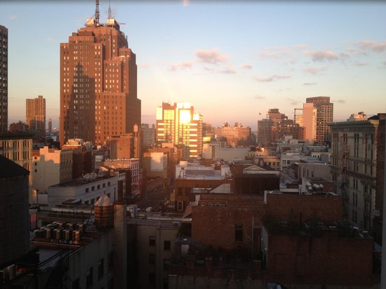 Holiday Inn SoHo New York: Vue de la chambre 1002