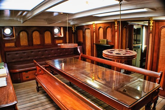 Cutty Sark: Captains Quarters