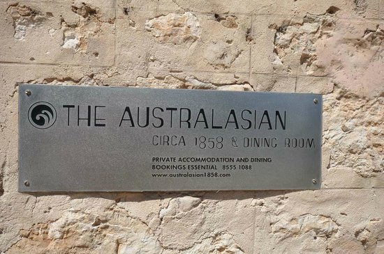 The Australasian: Name Plate