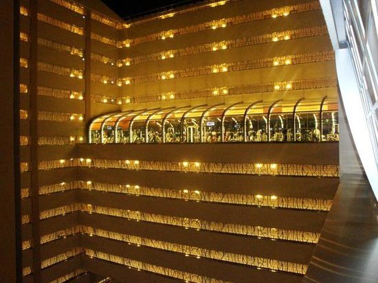 New York Marriott Marquis: couloirs