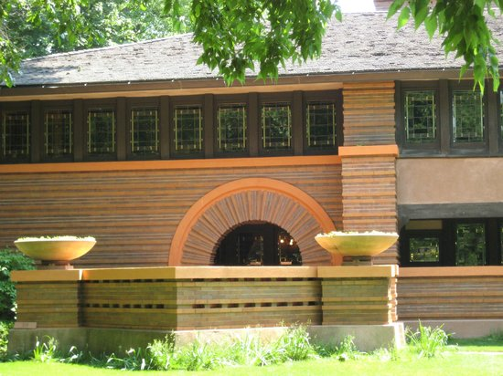 Oak Park, IL: Frank Lloyd Wright design on the street