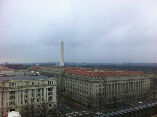 JW Marriott Washington DC: View from Suite