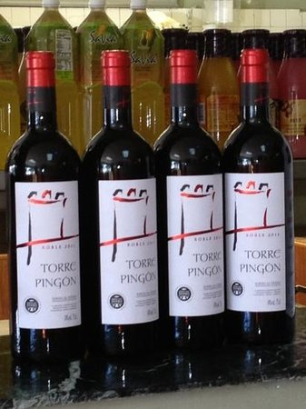 Hialeah, FL: This wine on display is really funny!!