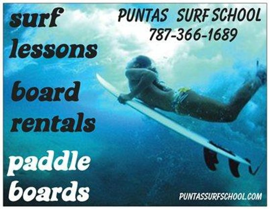 Puntas Surf School pr Puntas Surf School Flyers