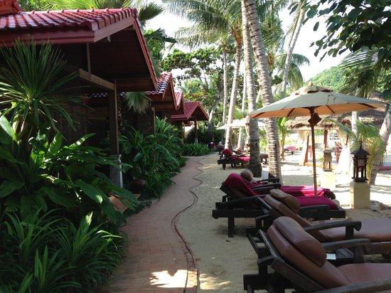 Zazen Boutique Resort & Spa: beach bungalow
