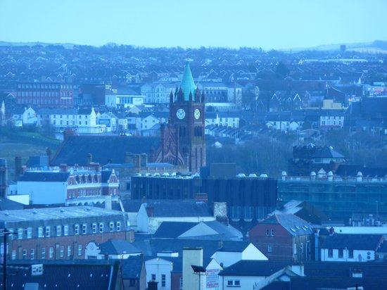 County Londonderry, UK: Veiw from the back deck