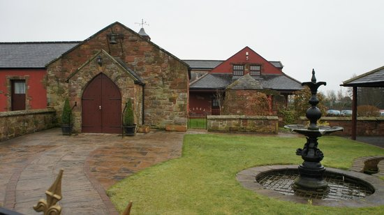Kirkpatrick Fleming, UK: The Forge and grounds