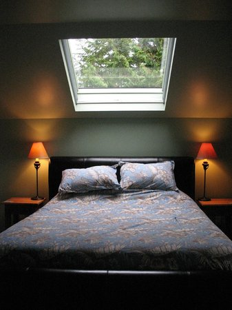 BriMar Bed and Breakfast: The skylit bed