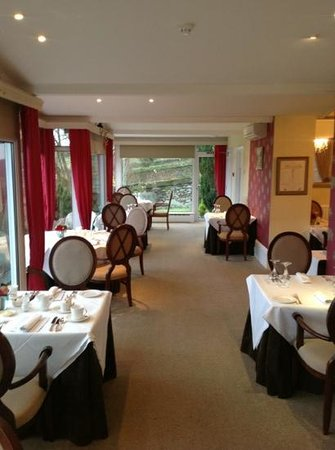 Gulworthy, UK: The Dining Room at the Horn of Plenty