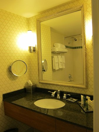 Hilton Portland &amp; Executive Tower: Bathroom sink