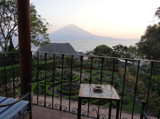 Hotel Atitlan: View from room