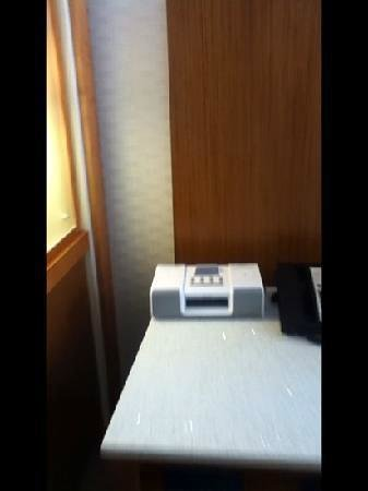 SpringHill Suites Huntsville Downtown: Alarm clock with mp3 dock