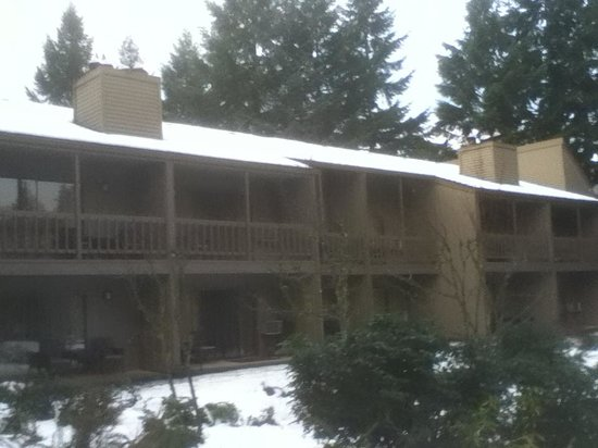 The Resort at The Mountain: Looks like NW garden apartments