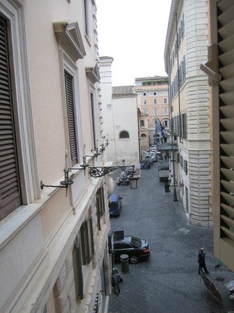 Albergo Santa Chiara: View from room