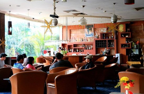 Golden View Hotel Batam: The lounge
