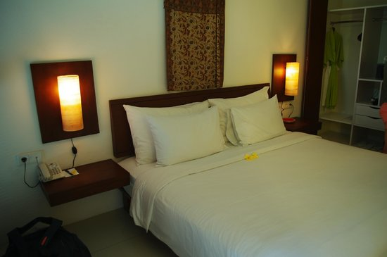 Ubud Green: chambre double avec sdb