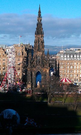 Fraser Suites Edinburgh: view from room 514