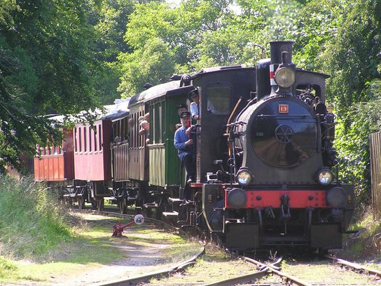 Lolland, Дания: The old steam train